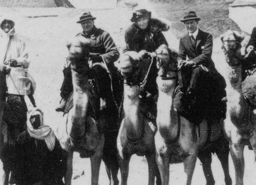 Winston Churchill, Gertrude Bell and T. E. Lawrence
